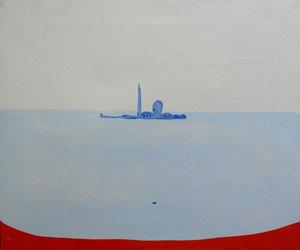 Virgilio GUIDI - Painting - Marina
