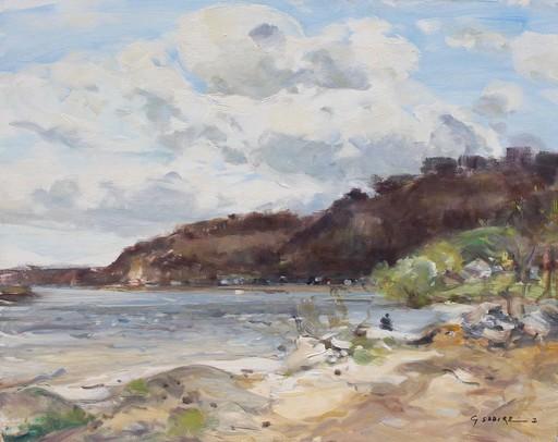 Gaston SEBIRE - Painting - La Seine