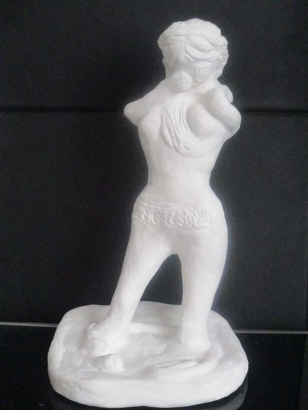 ATCHAMA - Sculpture-Volume - la force et la faiblesse