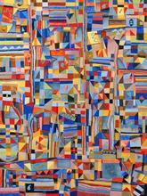 Jérémie IORDANOFF - Painting - Incendie d'automne