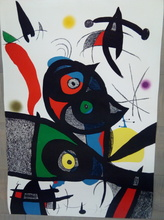 Joan MIRO (1893-1983) - Oda a Joan Miró