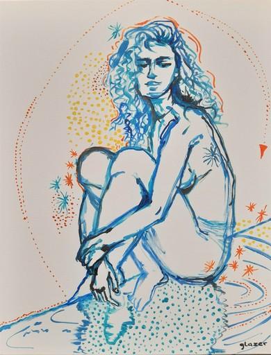 Joanna Ewa GLAZER - Gemälde - Star Girl