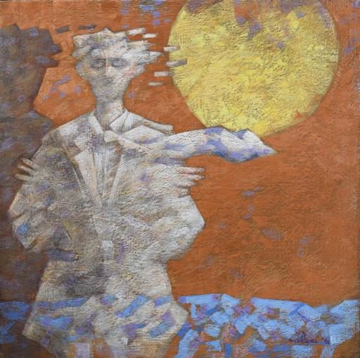 Giampaolo TALANI - Painting - L'ombra bianca che aspetta