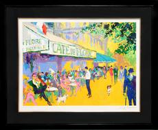 LeRoy NEIMAN - Print-Multiple - Cafe de Flore I