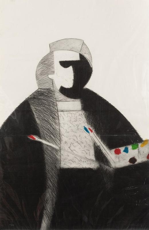 Manolo VALDÉS - Druckgrafik-Multiple - Rembrandt