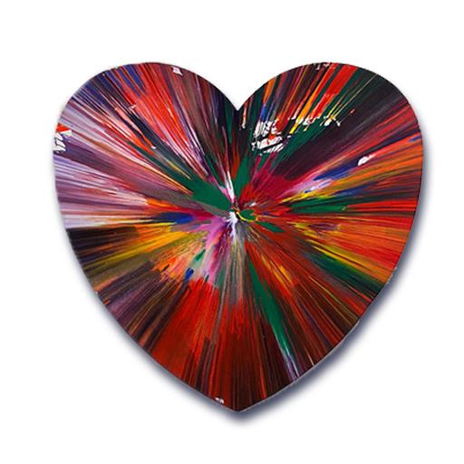 达米恩•赫斯特 - 绘画 - Heart spin