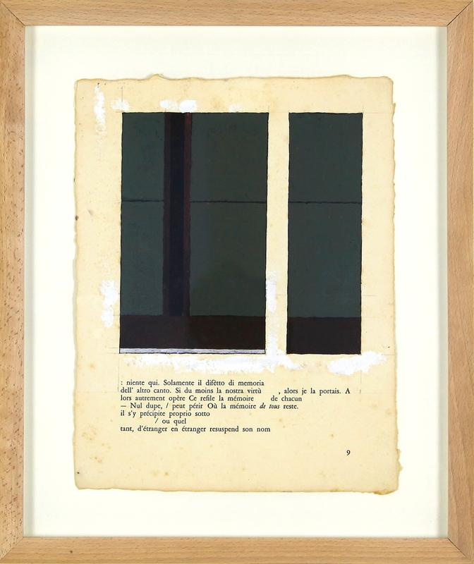 Jean-Pierre PINCEMIN - Painting - Sans titre (D75)