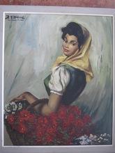 Richard DURANDO TOGO (1910-?) - marchande de fleurs