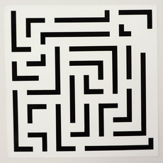Ode BERTRAND - Drawing-Watercolor - Labyrinthe