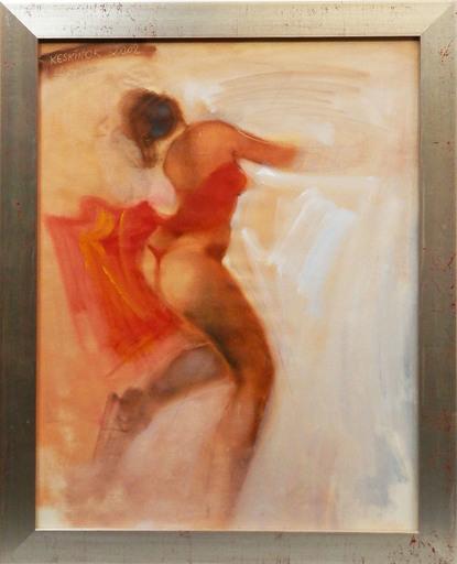 Kayhan KESKINOK - Painting - Dancing Lady