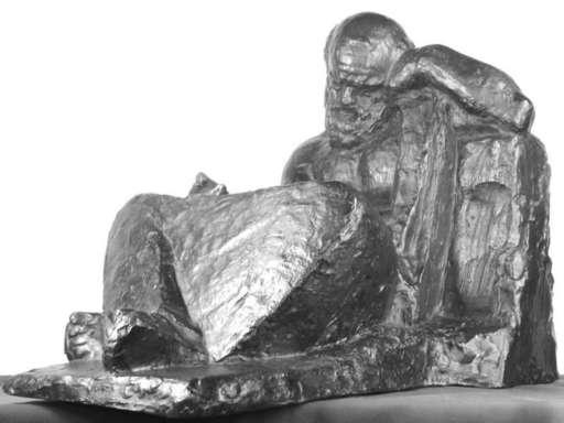 """Ivan MESTROVIC - Skulptur Volumen - """"Socrates"""""""