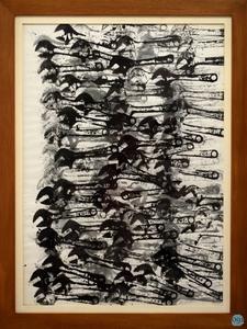 Fernandez ARMAN - Dibujo Acuarela - Allures d'objets