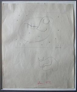 Amédée OZENFANT - Dibujo Acuarela