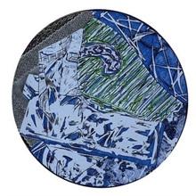 Frank STELLA - Estampe-Multiple - Swan Engraving Circle I, State III,