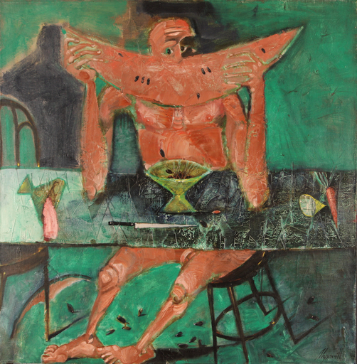 Nikolai MUKHIN - Painting - Loneliness