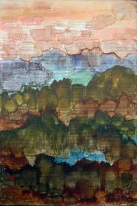 Dmitry PLAVINSKY - Pintura - Sunset