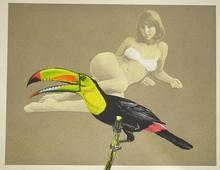 Mel RAMOS - Grabado - Toucan better than one