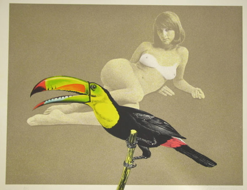 Mel RAMOS - Grabado - Toucan better than one