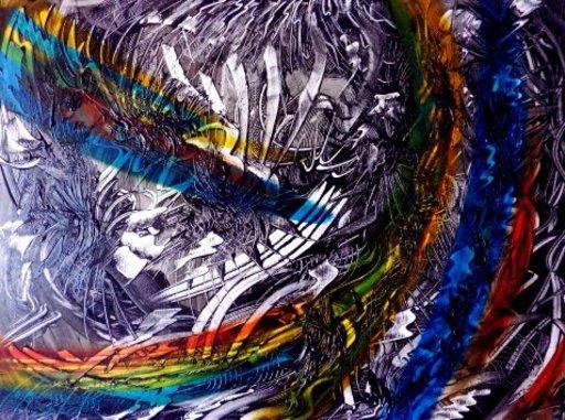 Didier ANGELS - Peinture - Jack Daniels 002