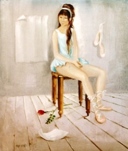 Michel VIOT - Painting - *Ballerina