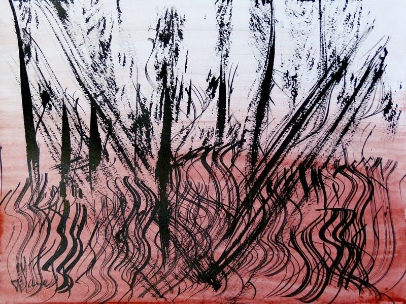 Jean-Jacques MARIE - Dessin-Aquarelle - Composition n°190