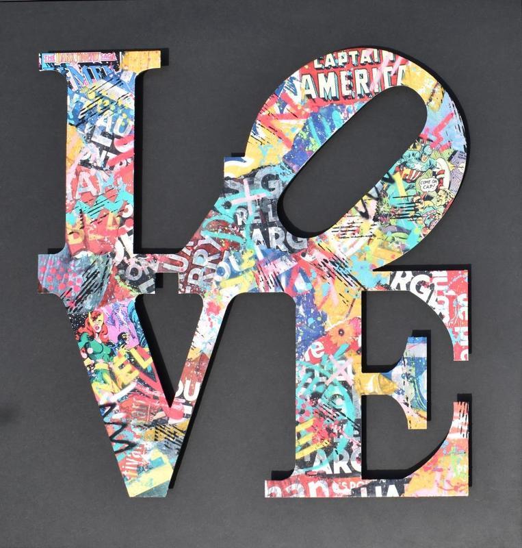 AÏROH - Pintura - LOVE