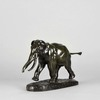 Antoine Louis BARYE - Sculpture-Volume - Barye Elephant de Cochinchine