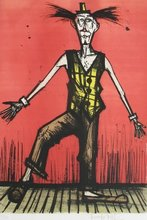 Bernard BUFFET - Print-Multiple - LE CLOWN BEBERT