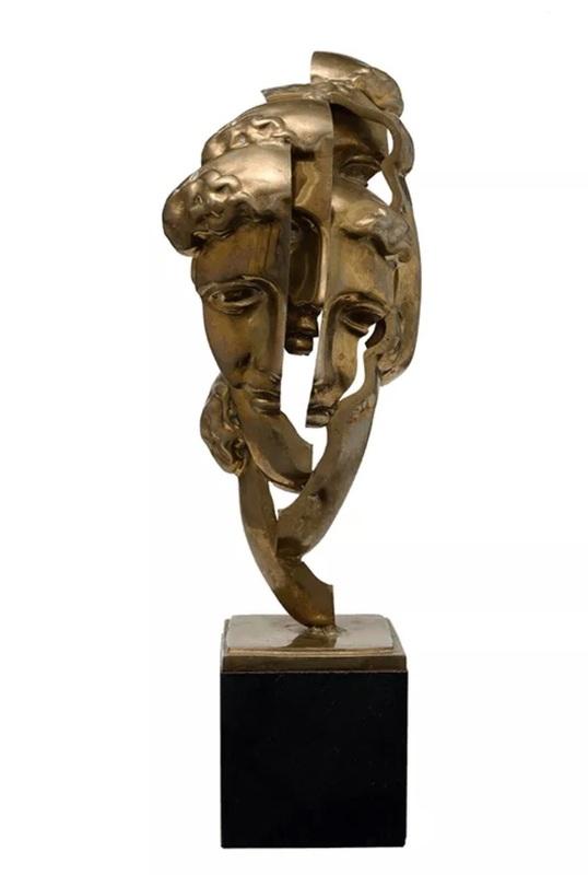 Fernandez ARMAN - Sculpture-Volume - Tête Romaine