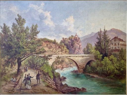 Jacob CANCIANI - Painting - Villach - veduta