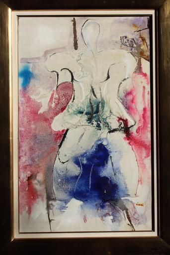Enrico VISANI - Painting - Costume per la Turandot (Pucini)