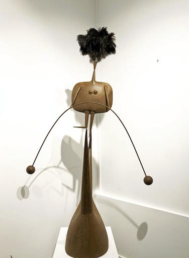 Philippe HIQUILY - Skulptur Volumen - Funambule
