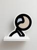 Julian OPIE - Sculpture-Volume - Heads - Ian