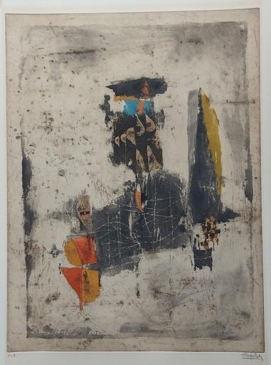 Johnny FRIEDLAENDER - 版画 - Trois formes  II