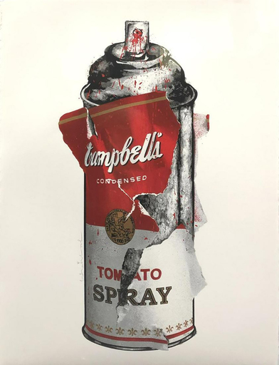 MR BRAINWASH - Druckgrafik-Multiple - Torn Spray Can