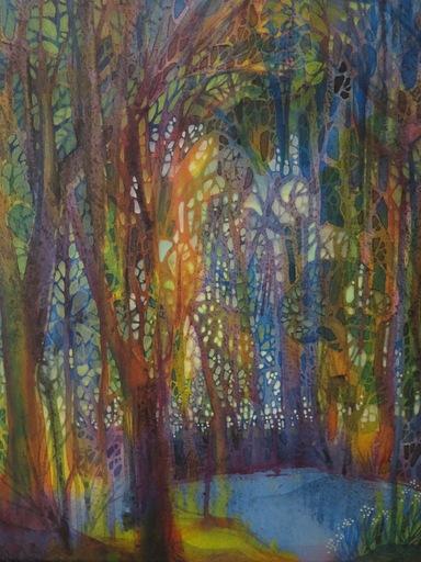 Eva BALTHAZAR - Pittura - Forêt