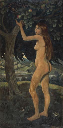 保罗·塞律西埃 - 绘画 - Éve et le serpent