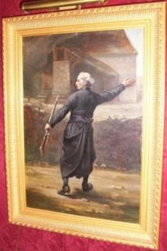Pierre Louis Alexandre Abel TERRAL - Pintura - La Restauration des Libertés