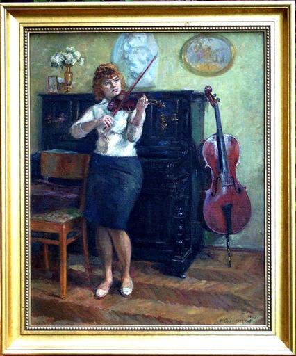 Jacov OLSHANETSKY - Pintura - Odessa - Music Academy Student