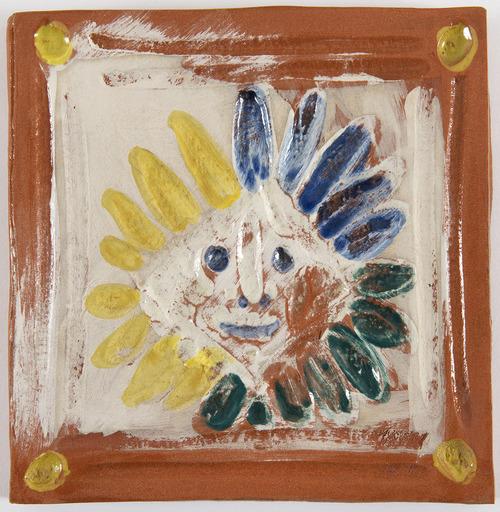 Pablo PICASSO - Keramiken - Petit Indien (A.R.548)