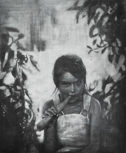 Vitaly PUSHNITSKY - Gemälde - Girl-II
