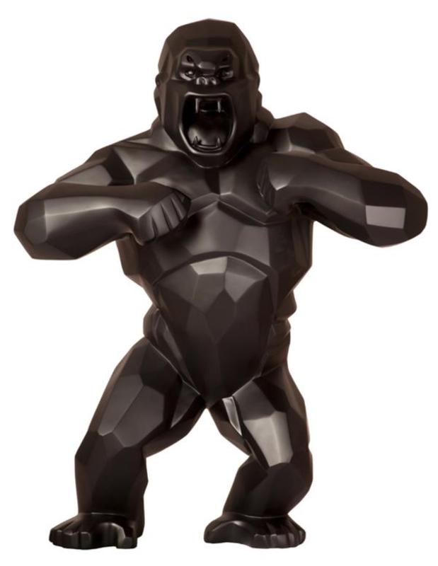 Richard ORLINSKI - Sculpture-Volume - WILD KONG BLACK MAT
