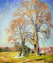 Otto Eduard PIPPEL - Pintura - Künstler Picknick