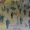 Elmyr DE HORY - Dessin-Aquarelle - Homage to Dufy