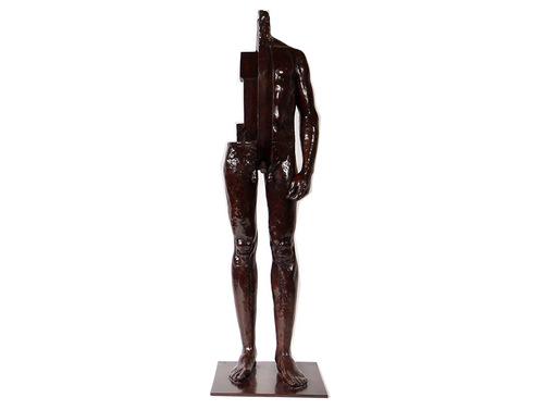 Mauro CORDA - Escultura - Homme écorché