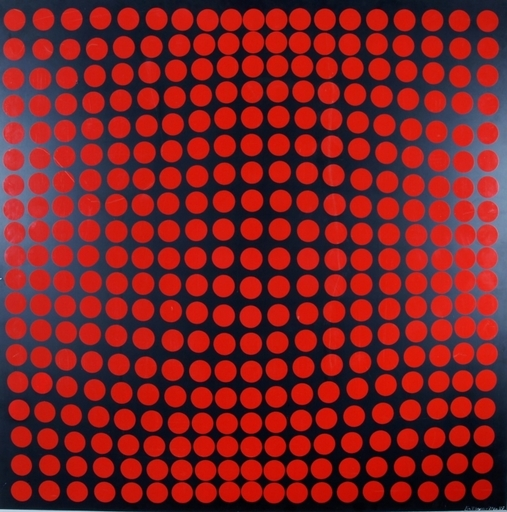 Victor VASARELY - Estampe-Multiple - No title