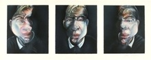 Francis BACON (1909-1992) - Three Studies for a Self-Portrait