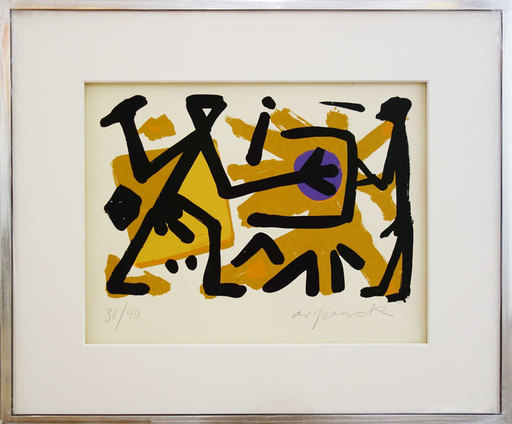 A.R. PENCK - Estampe-Multiple - Operator