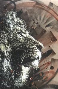 C215 - Pintura - Lion