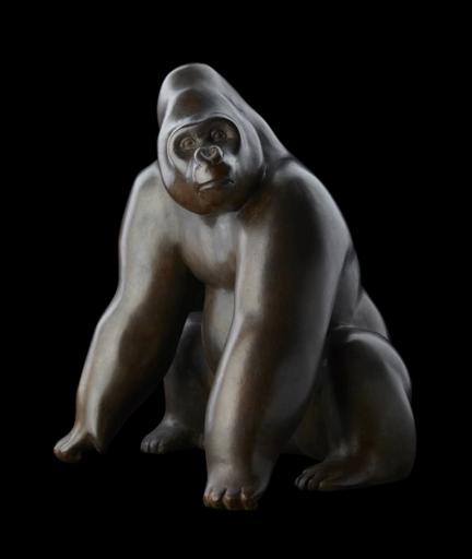 Michel BASSOMPIERRE - Skulptur Volumen - Le Dos Argenté n°4